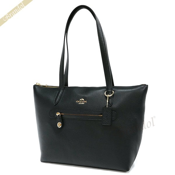 COACH コーチ トートバッグ TAYLOR TOTE レザー ブラック 38312 LIBLK