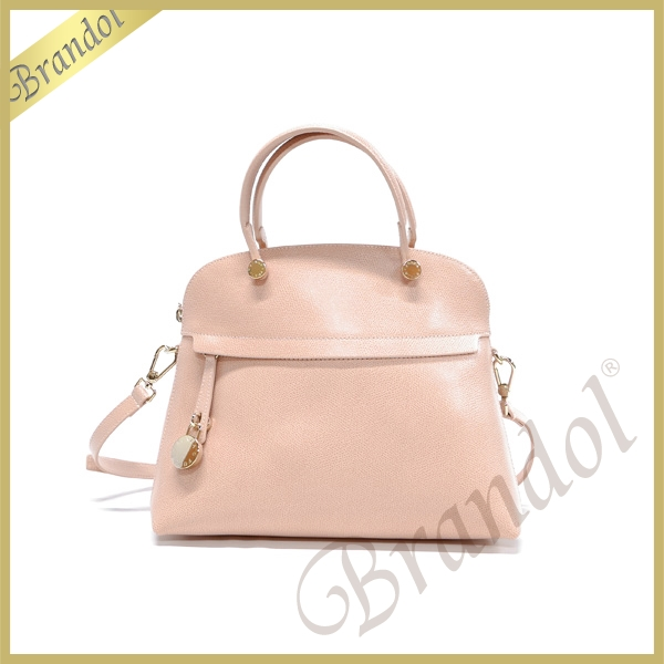 FURLA フルラ ショルダーバッグ パイパー PIPER M DOME 2way レザー ハンドバッグ ライトピンク BFK9 ARE ML0 / 812042 MAGNO