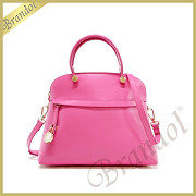 FURLA フルラ ショルダーバッグ パイパー PIPER M DOME 2way レザー ハンドバッグ ピンク BFK9 ARE ROE / 820859 ROSE