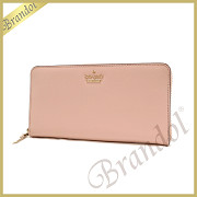 kate spade ケイトスペード ラウンドファスナー長財布 CAMERON STREET LACEY レザー ライトピンク PWRU5073 964