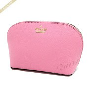 kate spade ケイトスペード ポーチ CAMERON STREET SMALL ABALENE レザー コスメポーチ ライトピンク PWRU5287 678