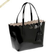 kate spade ケイトスペード トートバッグ LILY AVENUE PATENT SMALL CARRIGAN レザートート ブラック PXRU7065 290