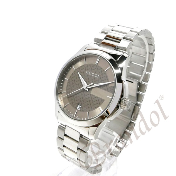 121a958f4744 GUCCI グッチ メンズ腕時計 Gタイムレス G-Timeless 38mm ブラウン ...